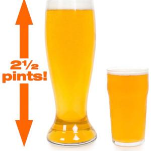 Verre de bière géant