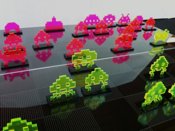 Echiquier Space Invader