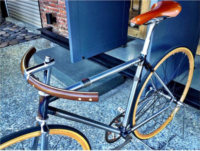 Guidon vélo vintage de F&Y