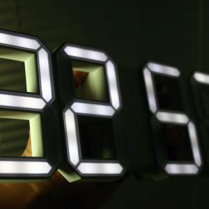 Horloge digitale LED par Vadim Kibardin
