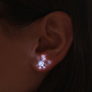 Boucle d'oreille Crystal LED