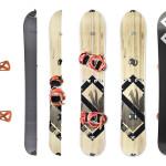 Splitsticks snowboard et ski 2 en 1