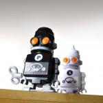 Robots salière et poivrière Suck UK