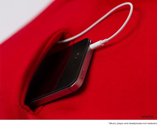 Taie d'oreiller Hoodie Pillow, poche rangement iPhone