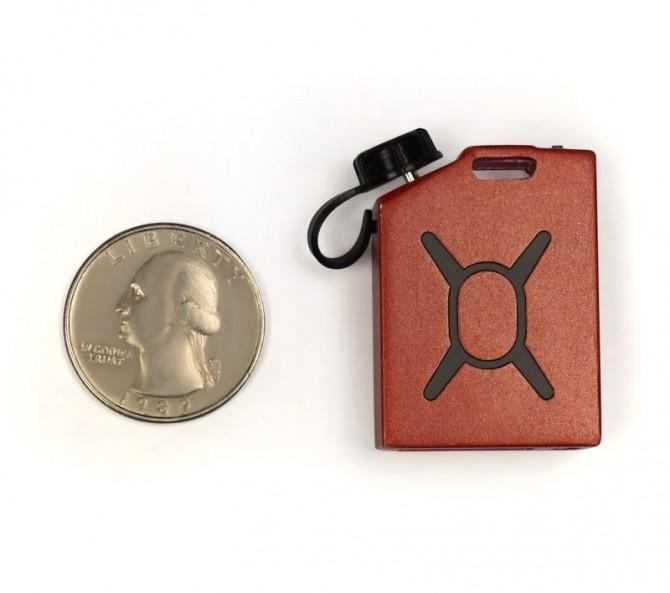 Fuel Micro USB Charger avec une pièce de monnaie