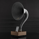 Restoration Hardware iPhone Gramophone