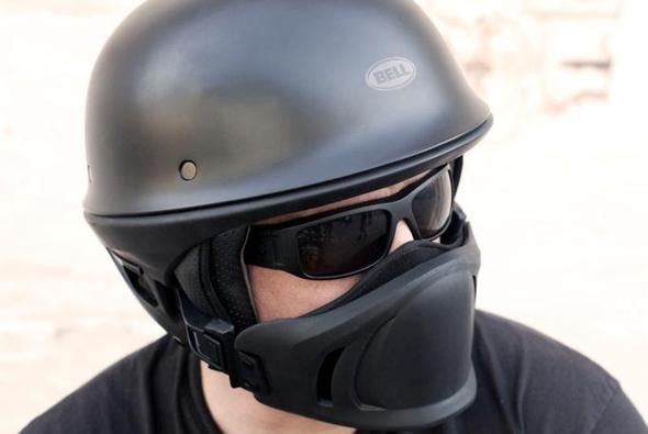 Le casque Bell Rogue Helmet porté