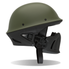 Casque Bell Rogue Helmet Solid Army Green