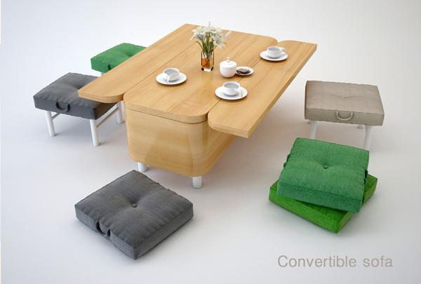 En mode table