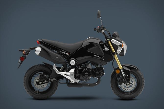 Moto Honda Grom noire