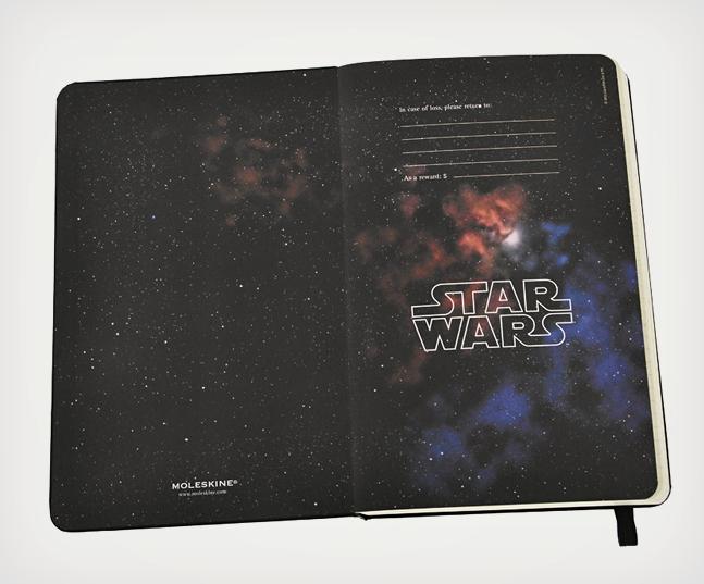 Agenda Moleskine Star Wars en édition limitée