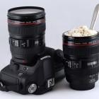 Un mug en forme d'objectif Canon