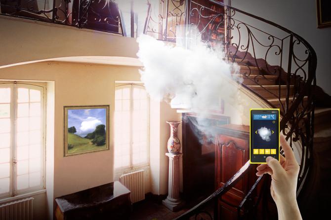 Nebula, la lampe nuage qui réagit à la météo