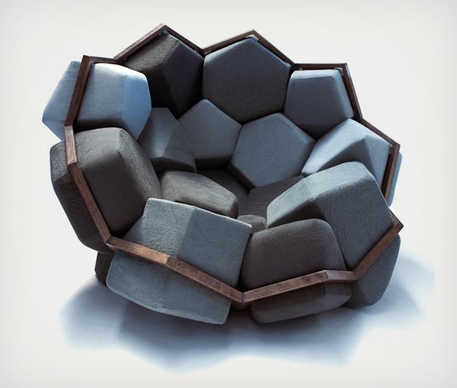 Le fauteuil Quartz