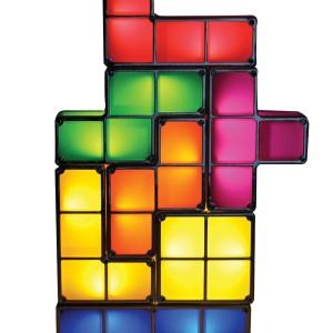 La lampe Tetris, totalement rétro