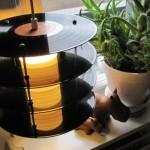 Lampe Vinyle