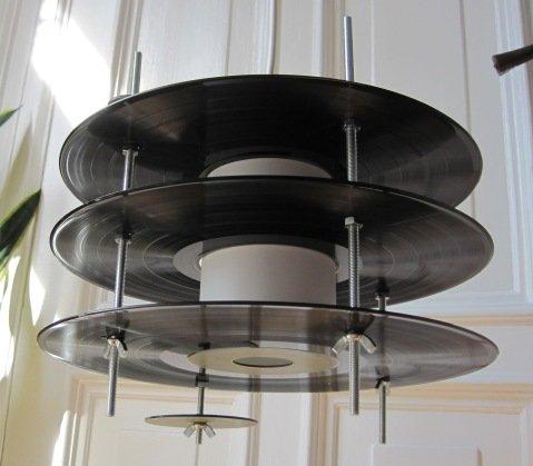 La lampe Vinyle