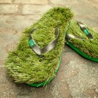 Tongs Green Grass homme