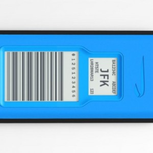 Etiquette électronique pour bagages