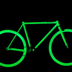 Vélo phosphorescent