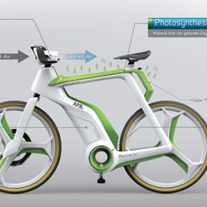 Le vélo purificateur d'air